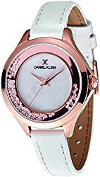 Daniel Klein Analog White Dial Womens Watch-DK11329-1