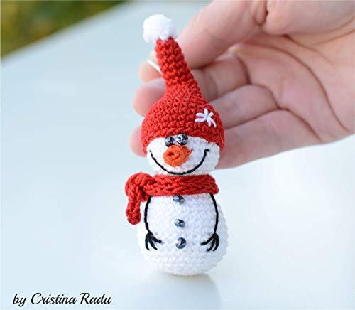 Schneemann Weihnachtsschmuck, Urlaub Spielzeug, gemütliches Geschenk, handwerkliche Leckereien -
