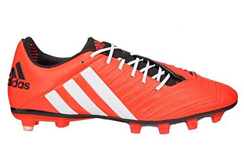 adidas Schuhe Rugby-Predator Incurza Club TR vor Ort Künstliche Rot Herren 422/3, Weiß - Weiß - Rouge, Blanc et Noir - Größe: 47 -