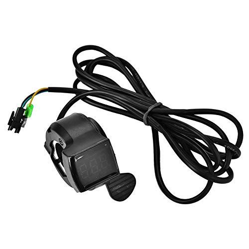 Sorand Roller Gas, Ebike Gas Kunststoff Geschwindigkeitsregler für Elektroroller Kompatibel mit den meisten Elektrorädern mit 22,5 mm Lenker