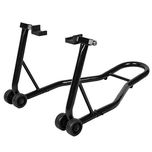 COSTWAY Motorradständer hinten Montageständer Motorrad Ständer Halter Radhalter für Hinterrad...