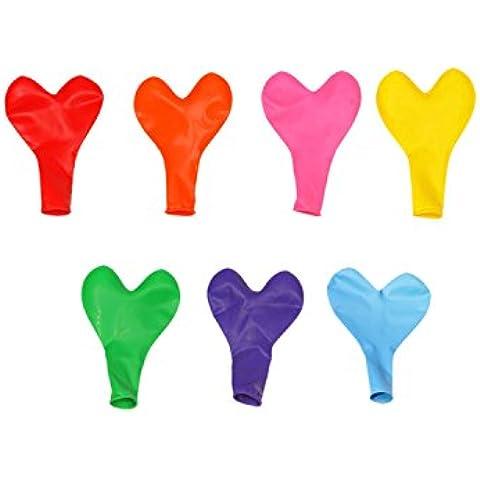 ESYN 100pcs 10 pollici di cuore Palloncino Per la festa di compleanno proposta di matrimonio