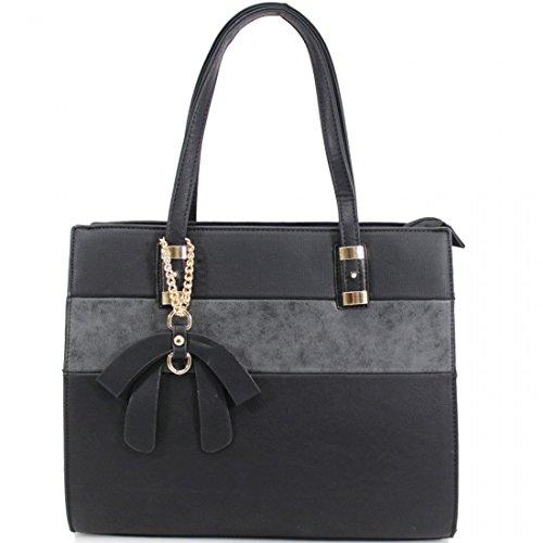 Elegant Fashions - Sacchetto Ragazza donna Unisex, neonati Black