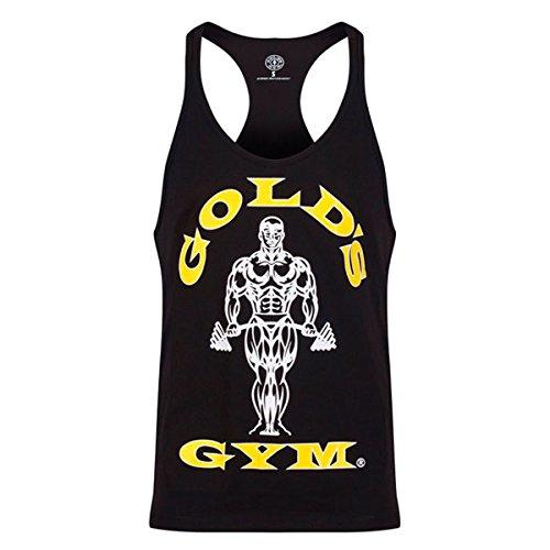 Golds Gym Tanktop Classic Stringer Tank, Größe:L, Farbe:black