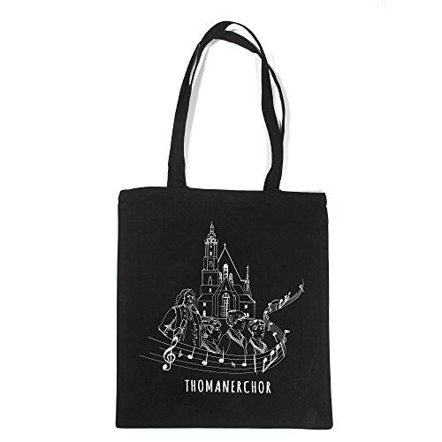 Thomaner Beutel | Souvenir Bag | Jutebeutel, Thomanerchor Leipzig, Baumwolltasche, Bach