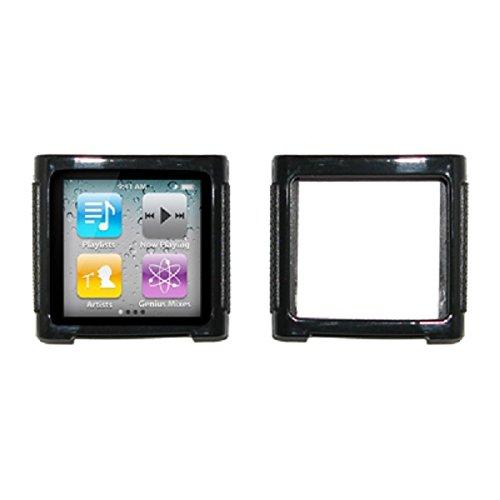 EMPIRE Black Cover Skin Poly Case for Apple iPod Nano 6 / 6th Generation Apple Ipod Nano Skin