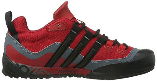 adidas Terrex Swift Solo, Multisports outdoor homme Rouge (Uni Red/Black)