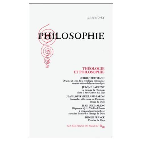 Philosophie, n° 42 : Théologie et Philosophie