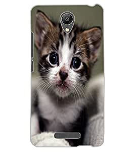 ColourCraft Cute Cat Design Back Case Cover for XIAOMI REDMI NOTE 2 PRIME
