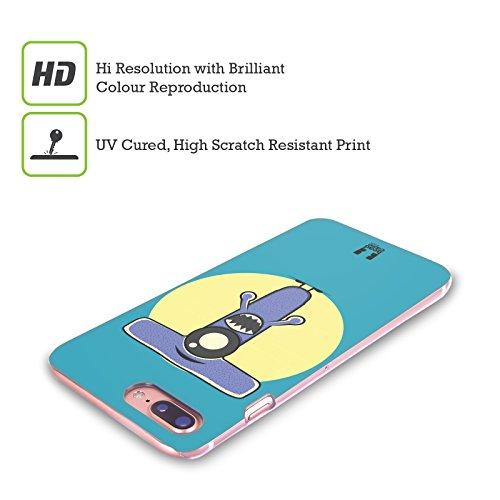 Head Case Designs Flessibile S Mostro Dellalfabeto Cover Retro Rigida per Apple iPhone X Rasoio T