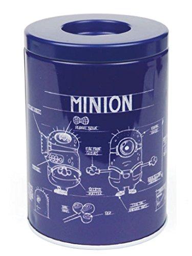 Minions Hucha Blue Print