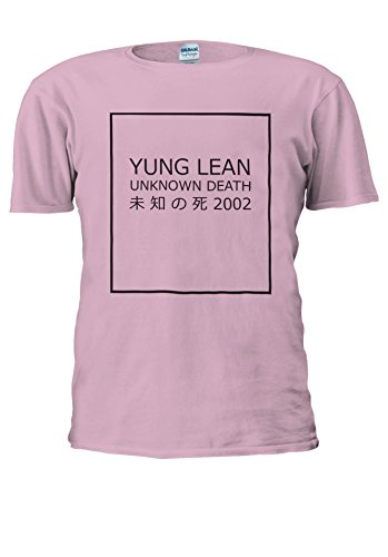 Yung Lean Unknown Death ? ? ?? Japan Novelty Men Women Unisex Top T Shirt-L (Tank-top Shirt Lean)