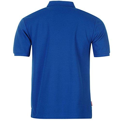 Slazenger Polo Polohemd T-Shirt Royal-Blau