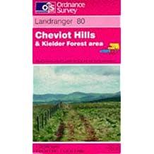 Cheviot Hills and Kielder Forest Area (Landranger Maps)