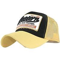 Xinantime Sombrero, Sombrero Hip Hop Gorras Beisbol Gorra para Hombre Mujer Sombreros de Verano Gorras de Camionero de Hip Hop Impresión Bordada, Talla única (❤️Amarillo)