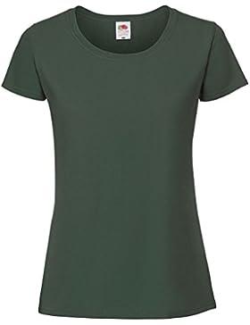 Fruit of the Loom Camiseta de Algodón Ringspun Para Mujer