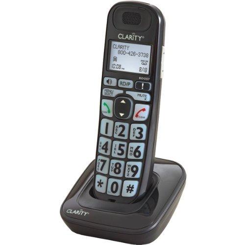 Clarity 52703 Cordless Landline Phone (Black)