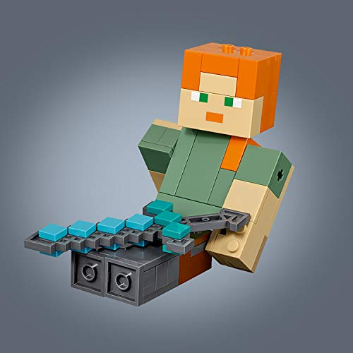 LEGO Minecraft - Bigfigurine Minecraft Alex et son poulet - 21149 -...