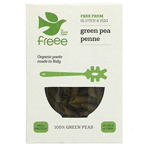 Doves Farm | Organic Green Pea Penne Pasta | 6 x 250g (UK)