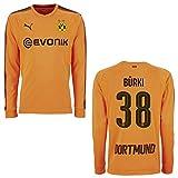 Puma BVB Trikot Torwart Herren orange 2018 - BÜRKI 38, Größe:S