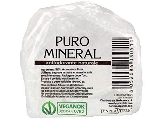 Desodorante Alumbre Amonio Natural Piedra Bruto -