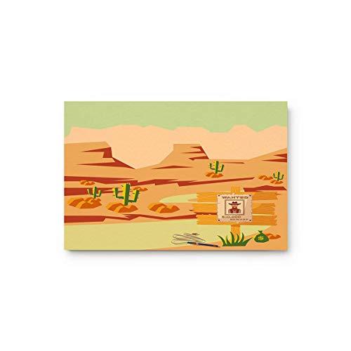 LIS HOME Kaktus trockenen Land Landschaft Wüste Berge zu Hause Bad Dusche Schlafzimmer Matte WC Boden Fußmatte Teppich Teppich Pad Fußmatte (Land-haus-bad-teppich)