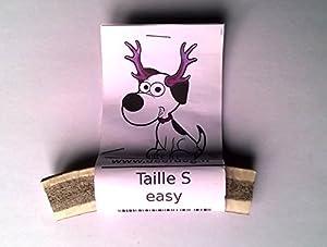 1 morceau de bois de cerf à mâcher,pour les dents de votre très petit chien S-e