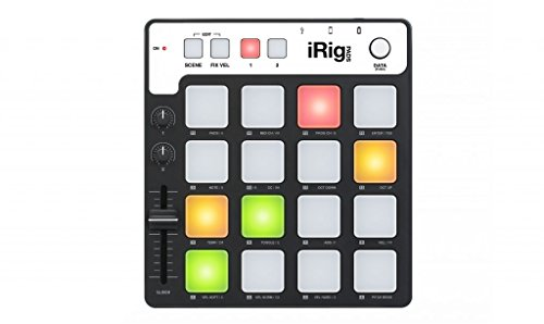 IK Multimedia 03-90050 iRig Pad-Controller für Apple iPad/iPhone/iPod Touch/Mac/PC