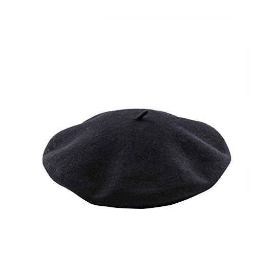 mütze Wolle Schwarz ()