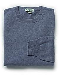 Abbigliamento Maglie it Uomo Amazon Blu Donna Cachemire WqAaw11Yv5
