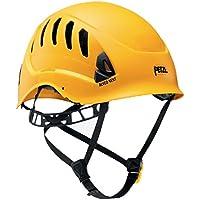 Petzl Helme Alveo Vent - Casco de escalada, color amarillo, talla 53-63