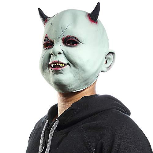 een Latex Maske Horror Zombie Geeignet für Erwachsene Männer/Frauen/Kinder ()