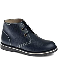 Pablosky 711321 - Zapatos de Cordones de Piel Lisa para niño