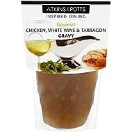 Atkins y Potts Gluten de pollo con salsa de vino blanco y estragón 350g