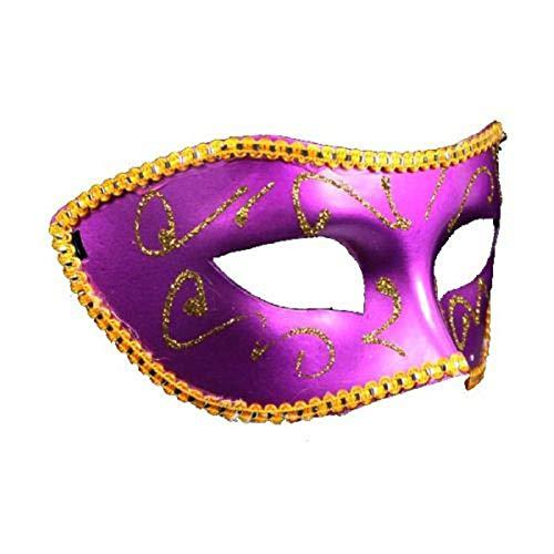Frauen Kostüm Mardi Gras - VAWAA 1pc Männer Frauen Kostüm Prom Maske Venezianischen Mardi Gras Party Tanz Maskerade Ball Halloween Maske Party Liefert