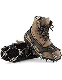 47d1ffe79f54a Lotenlli Misura OUTAD TPR Escursionismo invernale Ramponi di arrampicata su  ghiaccio Catene da neve per scarpe