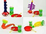 Koegler Seifenblasen Instrument 4-Fach Sortiert Klarinette, Saxophon, Trompete, Horn,