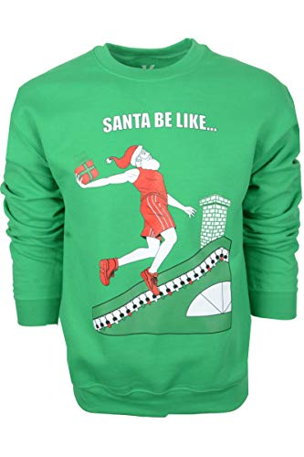 eatshirt, lustige Weihnachtspullover für Herren und Damen, Basketball, Fitnessstudio 523 - Grün - Groß ()