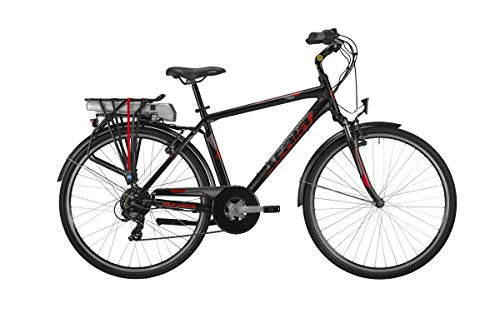 Atala Bicicleta eléctrica E-Bike Trekking Front Rueda 28 Run FS Horquilla amortiguada 300 WH Man BAFANG 25 NM Gamma 2019