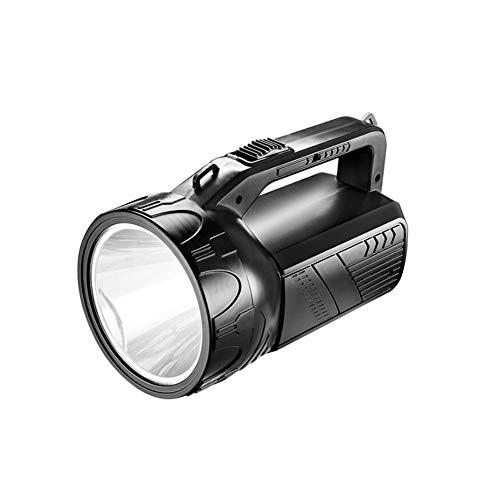 Super Bright LED torche, multifonction imperméable à l'eau torche puissante lanterne de poche extérieure portable projecteur de surveillance de sécurité d'urgence Searchlight