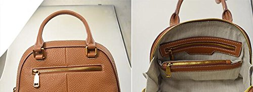 Coperture casuali semplici, borse, zaino obliquo delle signore, sacchetto di spalla, sacchetto quadrato piccolo ( Colore : Marrone ) Marrone