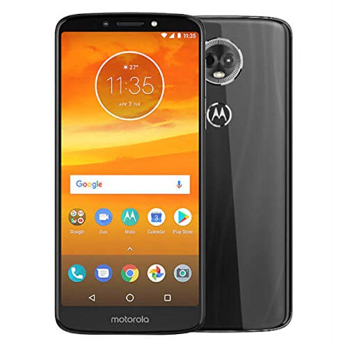 Motorola Nicht gesperrtes Moto E5 Plus Xt1924-4 16-GB-Smartphone (Dual-SIM, 2-GB-Ram, GSM) Grau