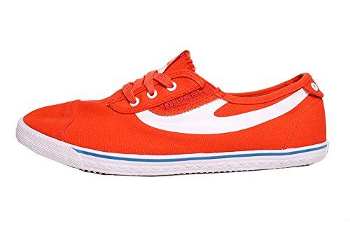 DIESEL - Sneakers pour homme C-GOOD Orange (Spicy Orange/White H4687)