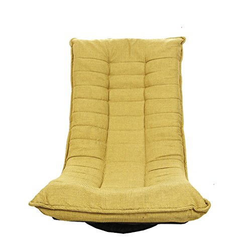 DYHOZZ Sitzsack, Individual Japanisch-Stil Drehen Sie das Sofa Balkon Schlafzimmer zusammenklappbar Liegestuhl Faules Sofa (Color : #1) (Chenille-bean-bag)
