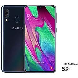 SAMSUNG Galaxy A40 4Go de RAM / 64Go Double Sim Noir
