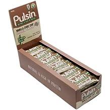 Pulsin Protein Snack (18x50g Riegel) Maple & Peanut - vegan - vegetarisch - Glutenfrei - no GMO - milch frei - sojafrei - Erdnüsse - Erbsenprotein - proteinreich - Reisprotein - Kakaobutter - natürlicher Ahornsirup - Balaststoffe - Fruchtstücke - Meersalz- Grüner Tee Extrakt