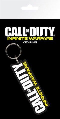 Preisvergleich Produktbild Call of Duty - Infinite Warfare - Logo - Gummi Schlüsselanhänger Keyring - Größe ca. 5 cm