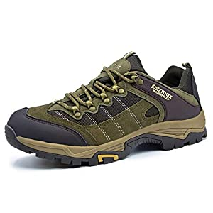 415GgvdSdaL. SS300  - Knixmax Men's Women's Waterproof Hiking Shoes Lightweight Walking Boots Outdoor Trail Trainers