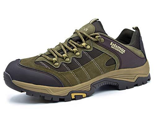 Knixmax-Zapatillas de Montaña para Mujer, Zapatos de Senderismo Calzado de Trekking Escalada Aire Libre...
