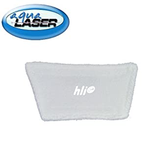 8 x Microfaserbezug medium für Handdampfgerät Aqua Laser ® GOLD Ersatzbezug für Aufsätze Fenstertuch Kletttuch für Aufsatz